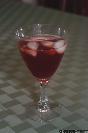 Super Simple Cranberry Tea