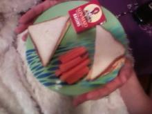 Classy Girl's Sandwich