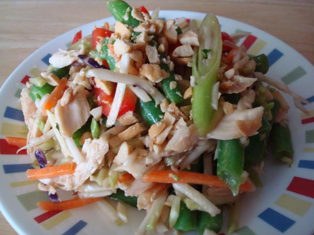 Asian Chicken Broccoli Slaw