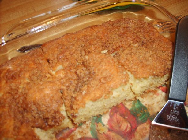 Breakfast Cream Cheese Snack Cake