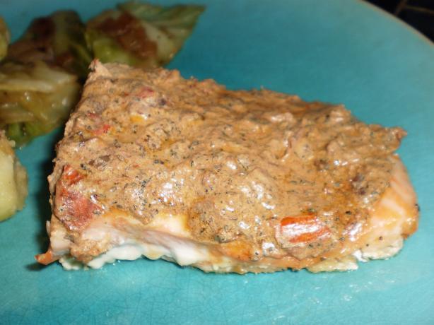 Creamy Baked Salmon