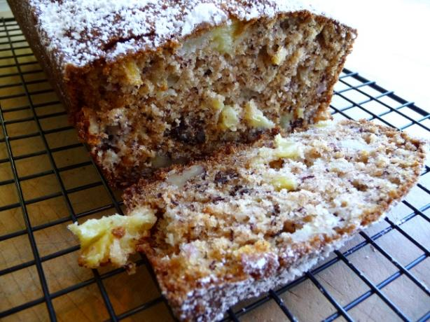 Pineapple Banana Bread