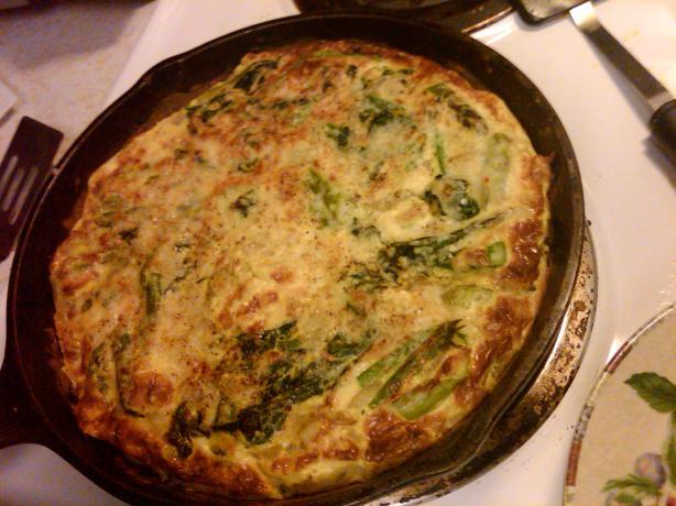 Spinach Asparagus Frittata