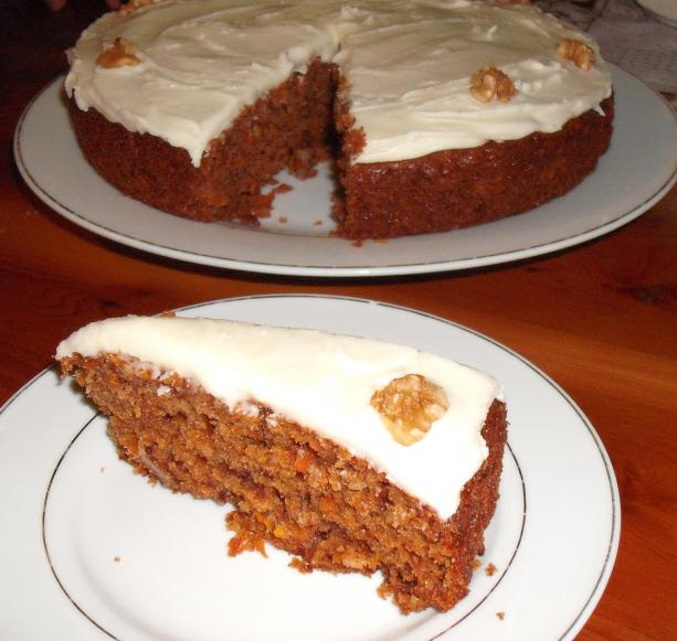 Grandma's Fabulous Carrot Cake (No Pineapple!)