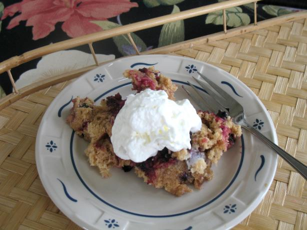 Yummy Microwave Blueberry Mug Cake