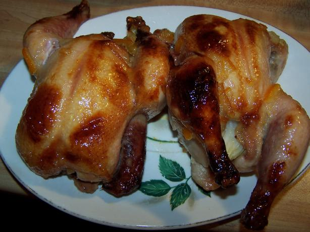 Glazed Cornish Hens