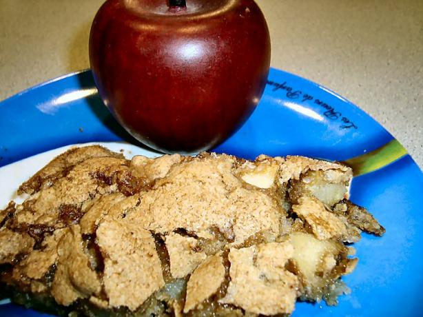 Mrs. Eddy's Apple Torte
