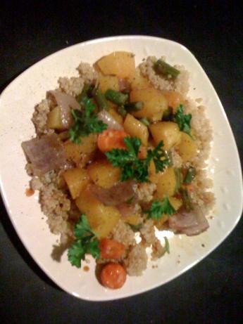 Roasted Veggies With Quinoa