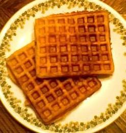 Whole Wheat Buttermilk Waffles