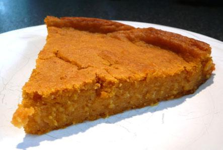 A Very Different Pumpkin Cake