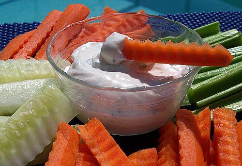 Herbed Vegetable Dip