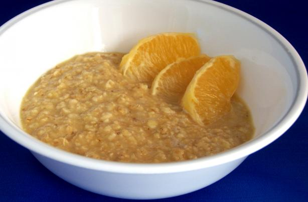 Orange Oatmeal - 2 Ingredients!