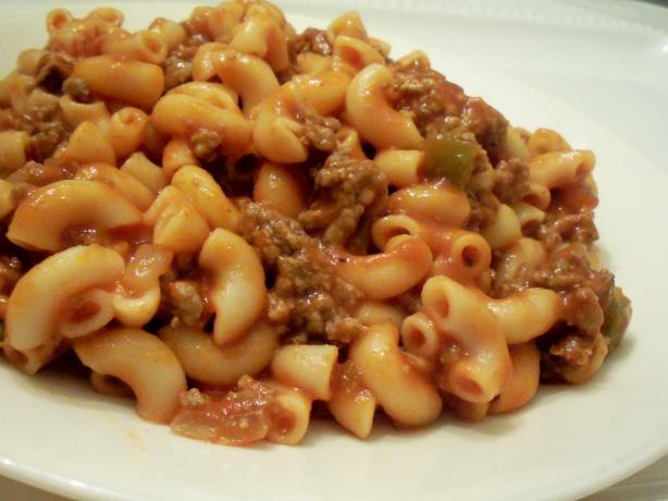 Easy Beef Macaroni