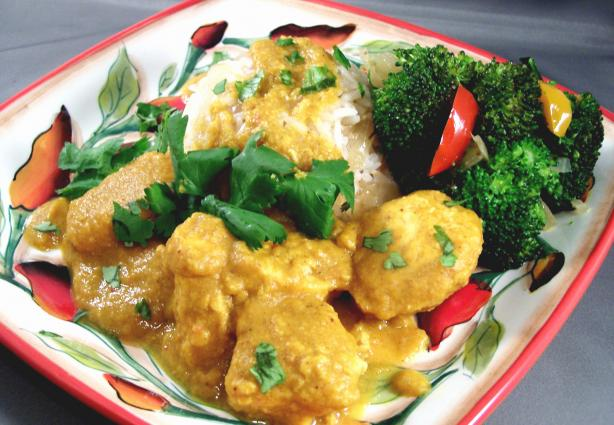 Tikka Chicken With Pumpkin Curry