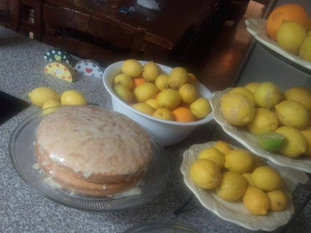 Lemon Cake (From Scratch)