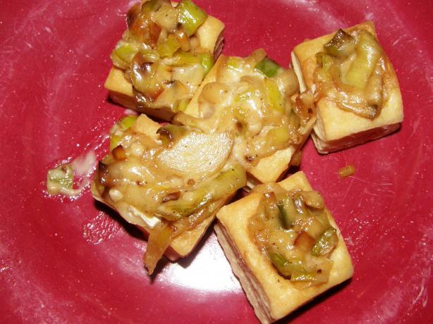 Brie-Leek Tartlets