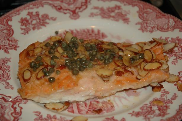 Almond Encrusted Salmon