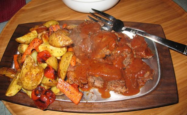 Peleponnesian Pot Roast