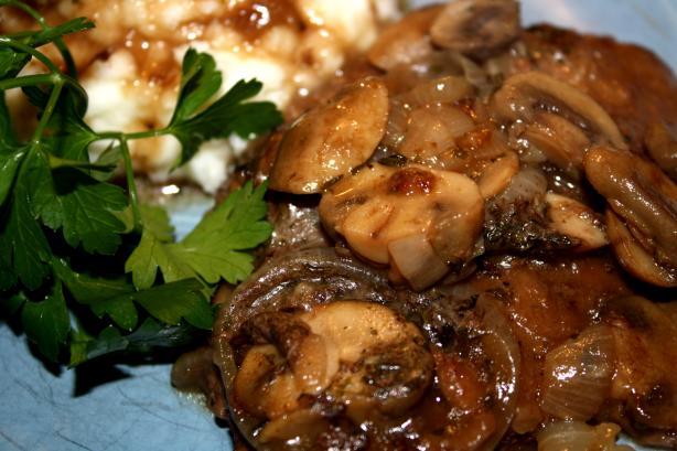 Mushroom Swiss Steak