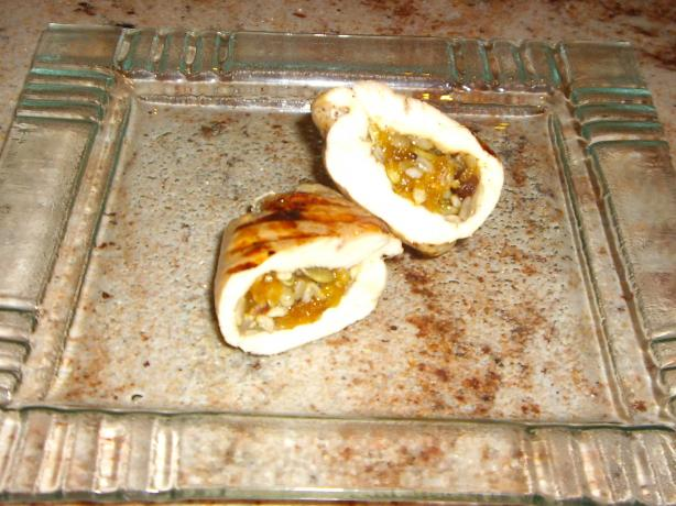 Chicken With a Nut , Honey and Seed Stuffing ( Dithose Stuffing)