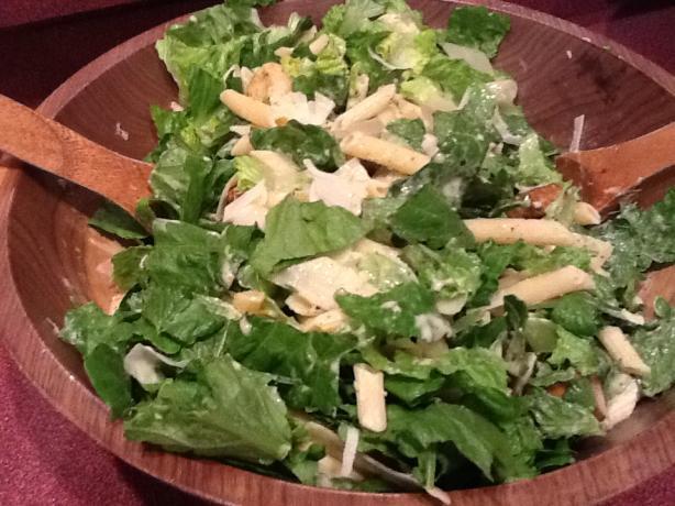 Lu Lu's Bistro Chicken Caesar Salad