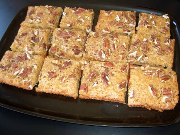 New Mexico Pecan Bars