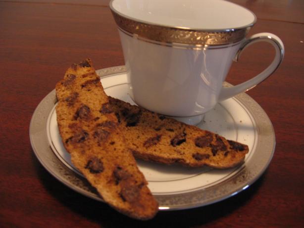 Mochaccino Biscotti Dunkers