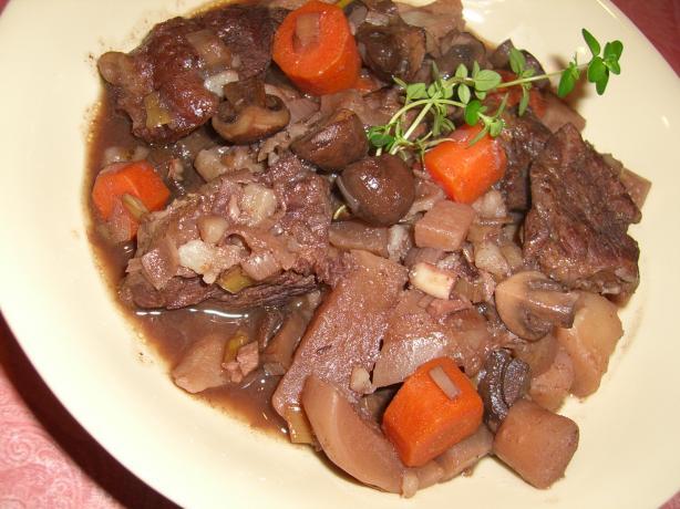 Vino Beef Stew