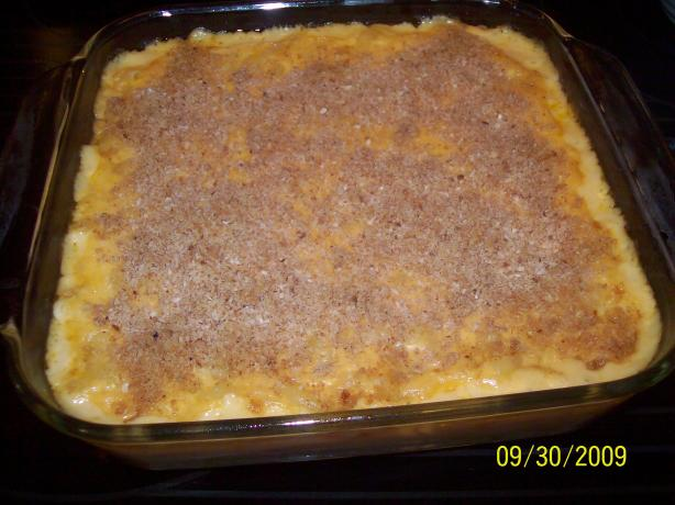Lower Fat Macaroni and Cheese