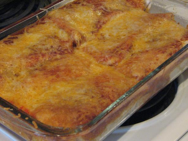 Jenna's Chicken Enchiladas