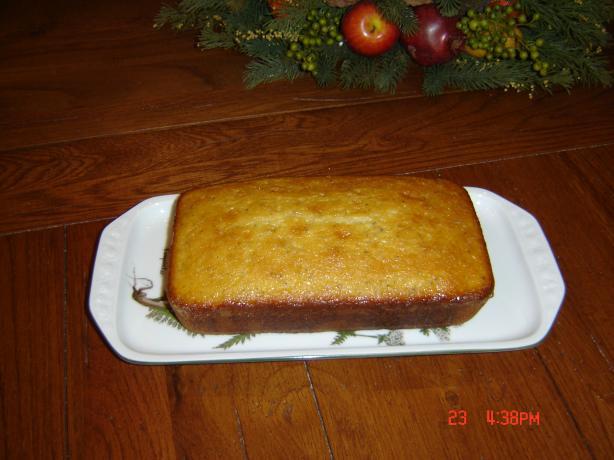 Lemon Poppy Bread