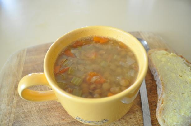 Lentil and Veggie Soup