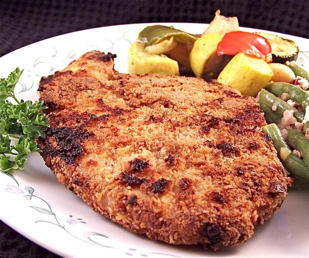 Crunchy Crust Breaded Pork Chops
