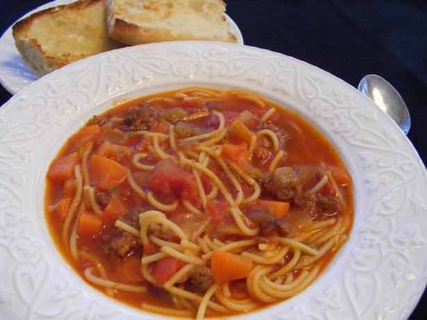 Sausage Pasta Soup