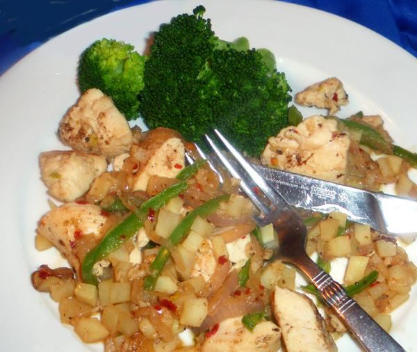 Spicy Oriental Chicken