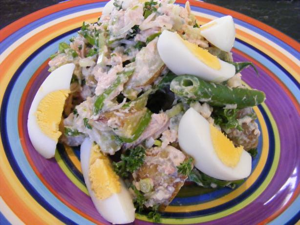 Potato, Tuna & Egg Salad (21 Day Wonder Diet : Day 2 )