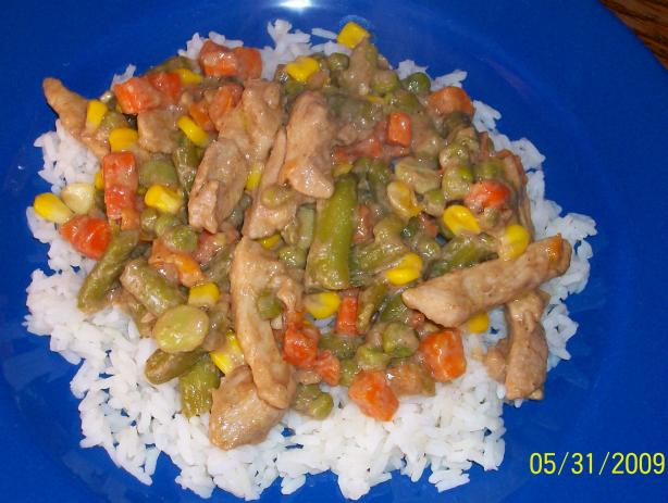 Chicken Stir Fry Whip Up