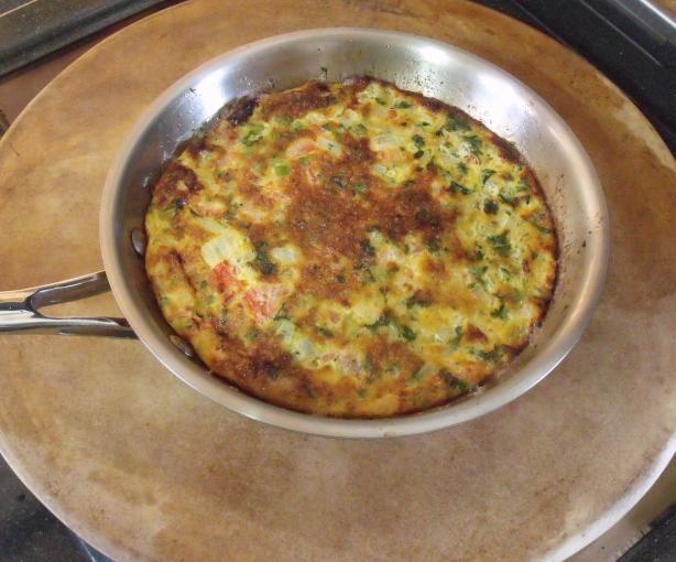 Egyptian Omelet - Eggah