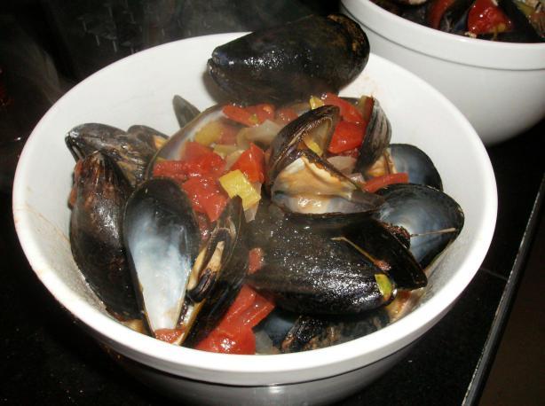 Mussels Provençale