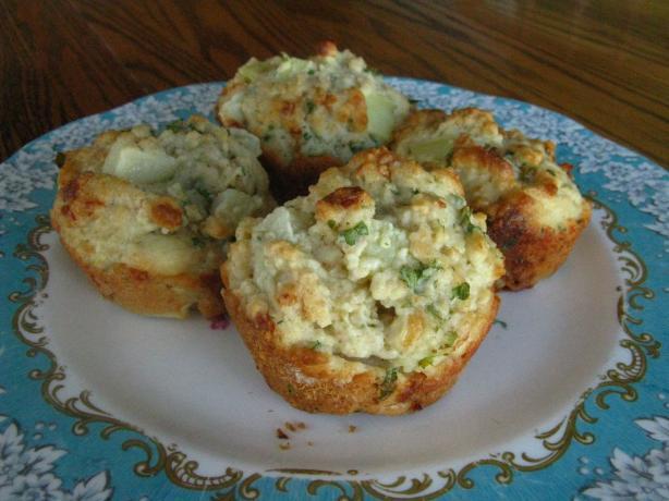 St Patrick's Day Muffins (Savoury Potato Muffins)