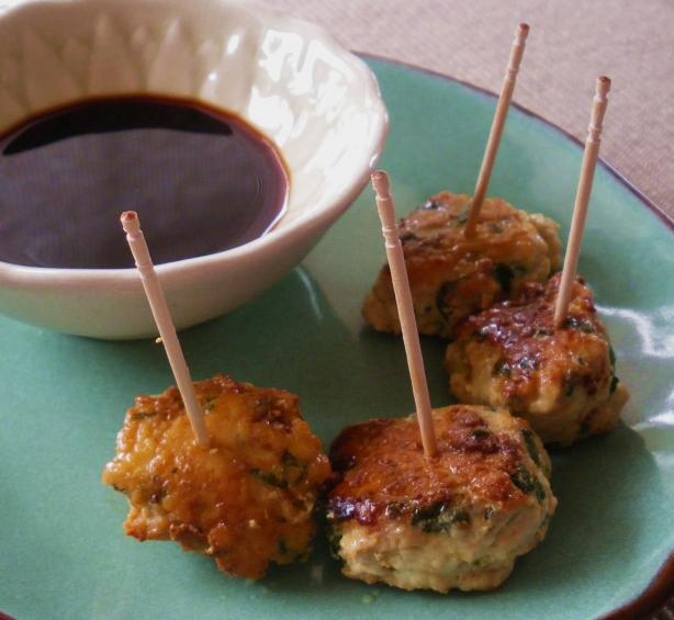 Chicken and Cilantro Bites
