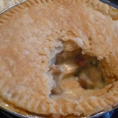 Creamed Chicken Pie- Not the Same Old Way OAMC