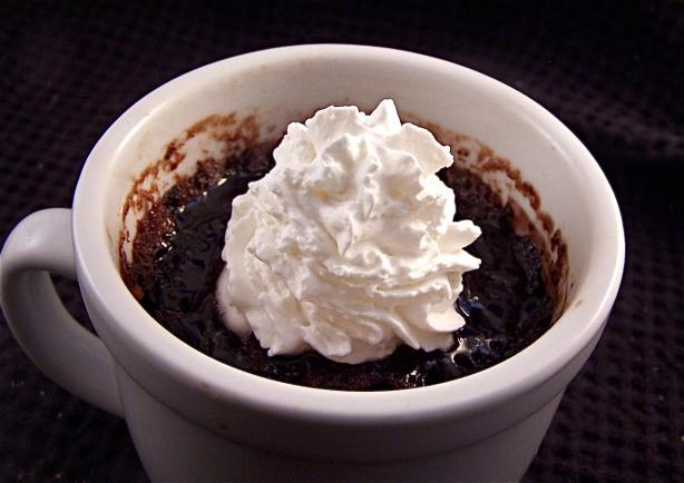 Light Coffee Mug Chocolate Cake