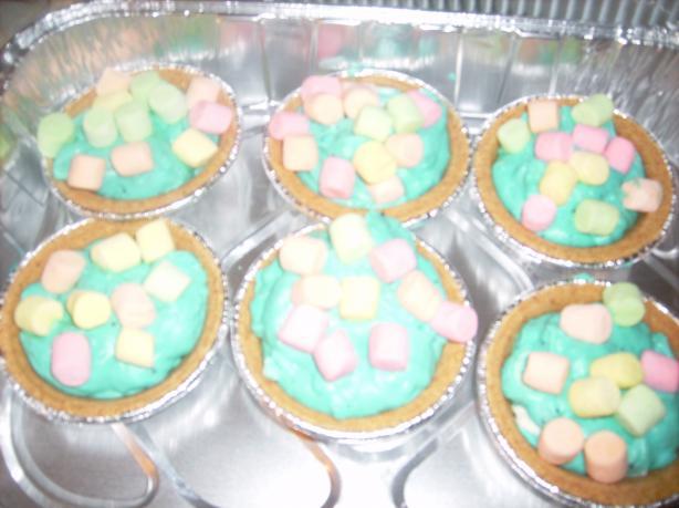Marshmallow Mermaid Pie