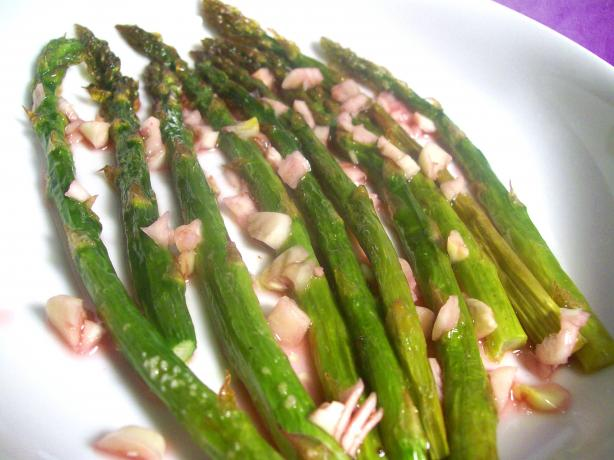 Roasted Asparagus Vinaigrette