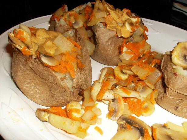 Dijon Mushroom Potatoes