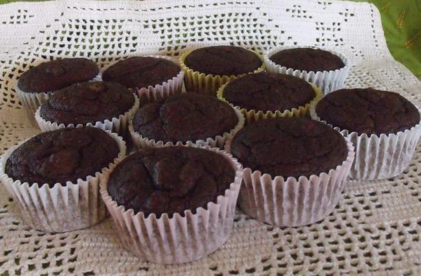 Chocolatey Delight Pumpkin Oat Muffins