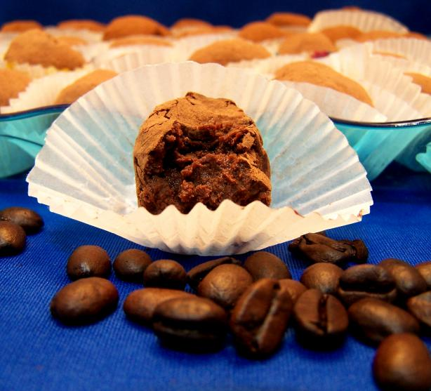 Kahlua Coffee Truffles