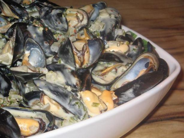Mussels a La Mode De Cologne