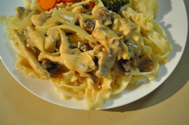Chicken Stroganoff for Beginners